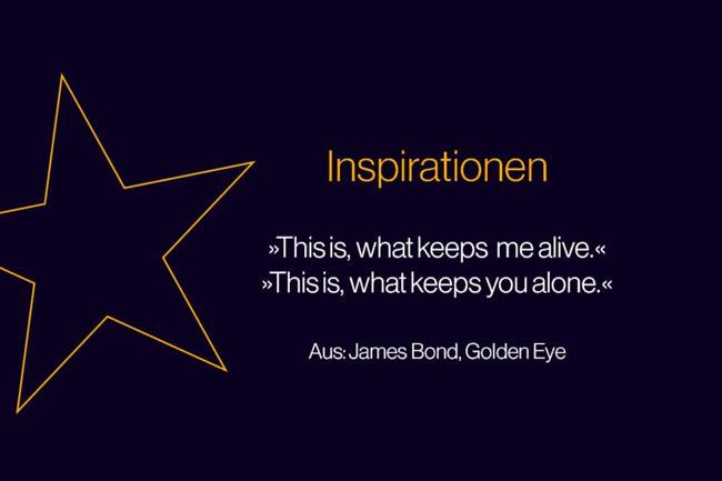 Dieses Zitat aus Golde Eye inspirierte mich dazu, über Helden zu schreiben