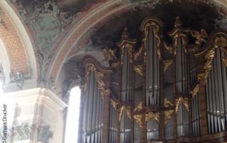 Orgel in St. Gallen