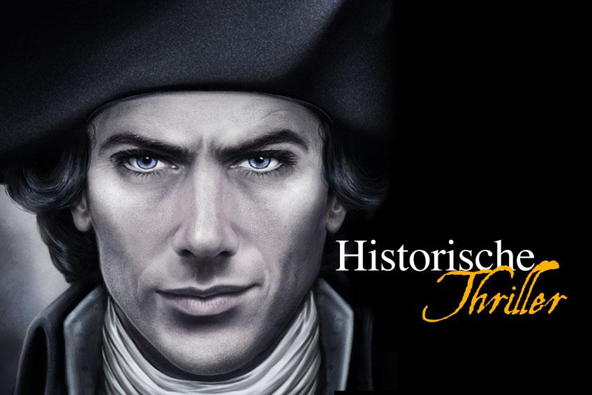 Historische Thriller, historische Spannungsromane