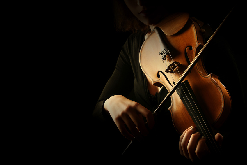 Dance funèbre - Violinspieler