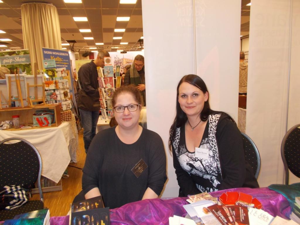 Steffi Krumbiegel und Sarah Baines