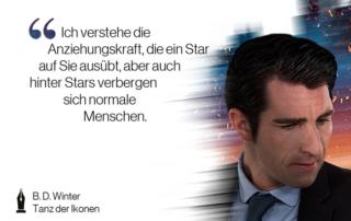 """""""Ich verstehe die Anziehungskraft, die ein Star auf Sie ausübt. Doch auch hinter Stars verbergen sich normale Menschen."""""""